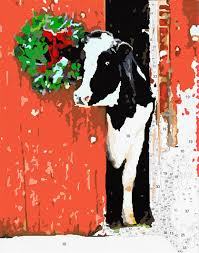 country living kit cow u0026 barn easy 123 art