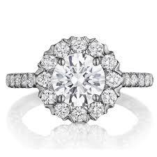 bjs wedding rings henri daussi bjs unique v prong halo diamond engagement ring tq