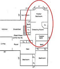 master bathroom dressing room floor plans dressing room floor master floor planbefore there was demo