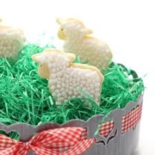 Lamb Decorated Easter Cookies