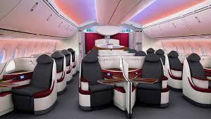 Boeing 787 Dreamliner Interior Photo Tour Inside Qatar Airways U0027 Boeing 787 Dreamliner