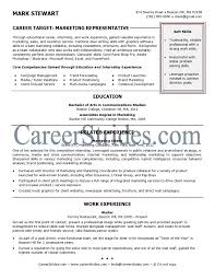 Objective Section Of Resume For Internship Resume Template For Recent College Graduate