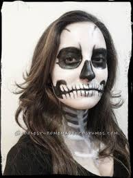 best skeleton makeup costume