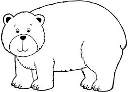 belajar mewarnai gambar binatang untuk anak beruang yang
