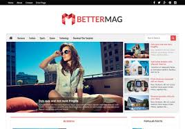 better mag blogger template u2022 blogspot templates 2018