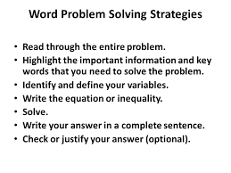 word problems that lead to inequalities word problem solving