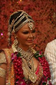 bridal jewellery images rakhi sawant with indian bridal kundan jewellery jewelorigins