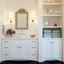 White Linen Cabinets For Bathroom Bathroom Bathroom Built Ins Linen Cabinet Ideas With White