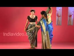 How To Drape A Gujarati Style Saree Sari Saree Sareedesigns Latestdesigns Sareecollections