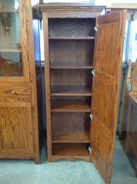 Single Door Pantry Cabinet Durable Hardwood Single Door Pantry Mixed Glass Door Cabinet