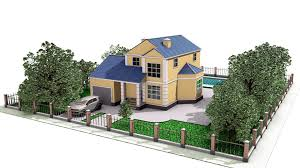 architecture simple house plan 3d 17 3 bedroom layout25 more 3