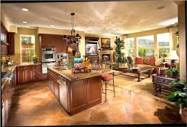 Open Floor Plans For Small Homes Kitchen Open Floor Plan Kitchen Living Room Dining Small