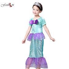 Mermaid Toddler Halloween Costume Buy Wholesale Girls Mermaid Halloween Costumes China