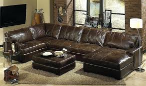 Oversized Leather Sofa Oversized Chair Oversized Leather Sofa For U Shaped Sectional