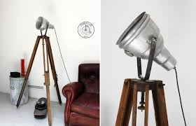 Tripod Floor Lamps Quirky And Attractive Tripod Floor Lamp Designs