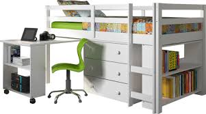 kids room best loft bed ideas with study table twin low loft bed