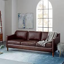 west elm leather sofa reviews hamilton leather sofa 81 west elm