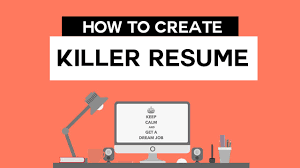 How To Make Resume Online by How To Create Killer Professional Resume Online Free Youtube