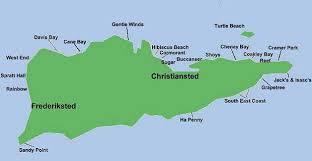 st croix caribbean map map st croix u s islands maps usvi