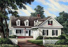 cape cod house plans with porch plan 32598wp l shaped cape cod home plan dining room fireplace