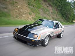 1979 ford mustang pace car 1979 indy 500 pace car mustangs fast fords magazine