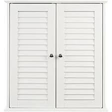 badezimmer hängeschrank weiß premier housewares badezimmer hängeschrank mit lamellen doppeltür