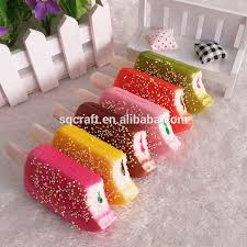 artificial food cake dessert cell phone keychains fake ice cream