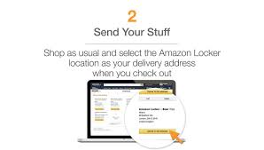 Grove City Outlet Map Amazon Locker U2013 A Self Service Kiosk To Collect Your Parcels