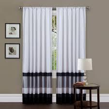 Emerald Curtain Panels by Black U0026 White Curtains Seasonal Sale U2013 Ease Bedding With Style