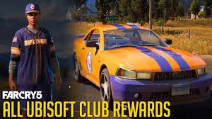 my fan club rewards far cry 5 all ubisoft club rewards free uplay dlc youtube
