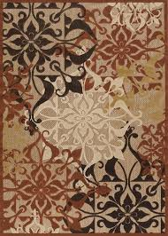 Couristan Outdoor Rugs Collection By Couristan Gatesby Terracotta 5714 0136 Urbane