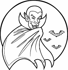 coloring page of a bat newcoloring123