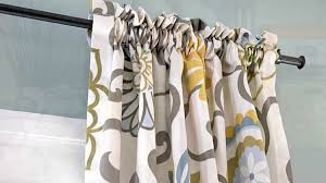 Curtain Patterns To Sew How To Sew A Simple Diy Rod Pocket Curtains For Your Home