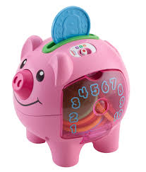 his and hers piggy bank fisher price laugh learn count and learn piggy bank walmart