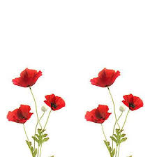 poppies flowers artificial poppy flower 63cm decorative plastic
