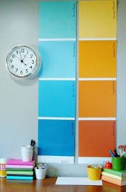 25 unique paint sample wall ideas on pinterest paint chip wall