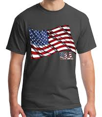 Cool Flags Us Of America Flag Waving U0027s T Shirt Cool Usa Flag Tee For