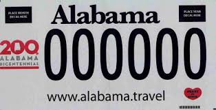 of alabama alumni car tag distinctive license plates all vehicles alabama department of