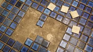 flooring how to re attach old bathroom floor tiles home