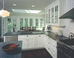 Galley Kitchen Peninsula Kitchen Peninsula U0026 Eating Area John M Reimnitz Architect Pc