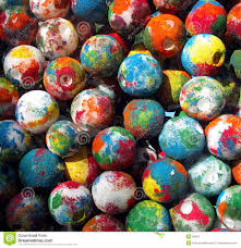 painted balls stock photos image 50553