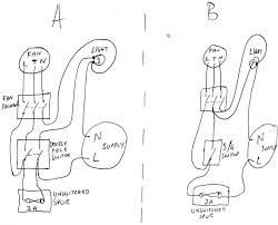 wiring diagram wiring diagram for bathroom fan with timer lights