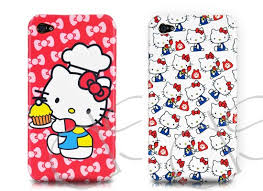 cute kitty iphone 4 cases gadgetsin