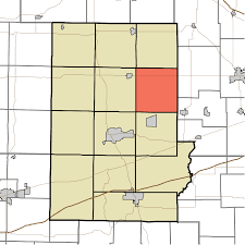 Time Zone Map Indiana by Floyd Township Putnam County Indiana Wikipedia