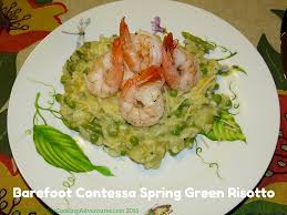 barefoot contessa u0027s spring green risotto everyday cooking adventures
