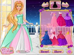 play barbie princess dress