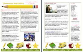15 free microsoft word newsletter templates for teachers u0026