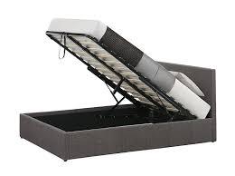 birlea berlin ottoman bed fabric grey double amazon co uk