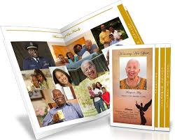 funeral programs printing funeral program pictures photos for funeral and memorials