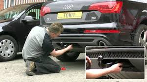audi q7 westfalia towbar youtube